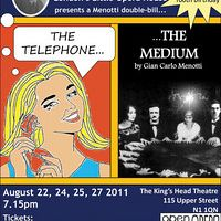Menotti Double Bill - Telephone, The Medium